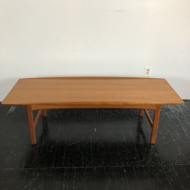 1960s 1960's Teak Frisco Surfboard Coffee Table by Folke Ohlsson For Sale - Image 5 of 13