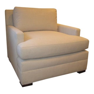 Modern Vanguard Furniture Upholstered Club Chair For Sale