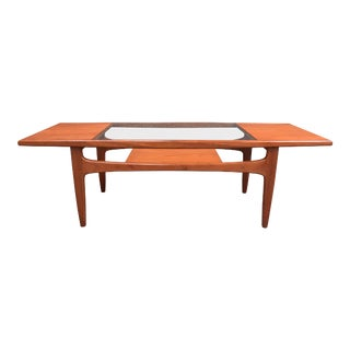 Vintage G Plan Mid-Century Modern Teak and Glass Coffee Table