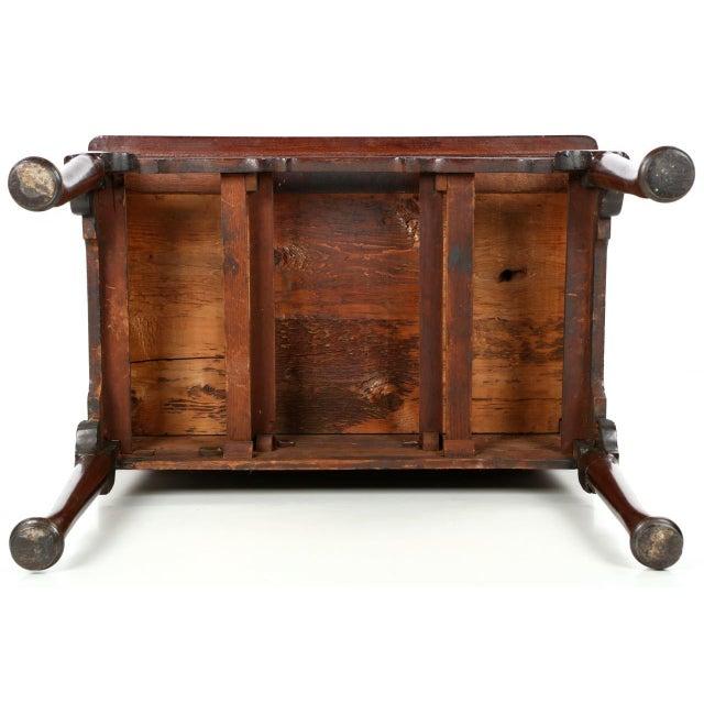 Fine English Georgian Mahogany Lowboy Dressing Table, Circa Late 18th/Early 19th Century - Image 10 of 10