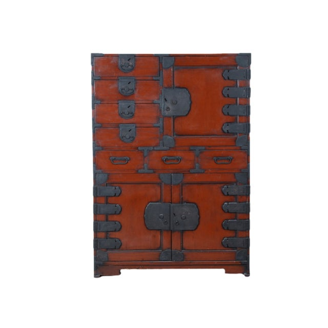 Vintage Japanese Tansu Cabinet - Image 1 of 8