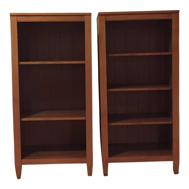 Ethan Allen Bookcases - Pair For Sale