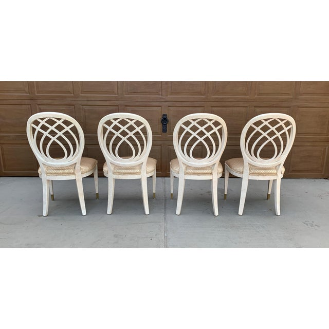 1990s 1990's Henredon Side Chairs - Set of 2 For Sale - Image 5 of 13