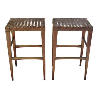 Artistica Milo Backless Barstools -- A Pair