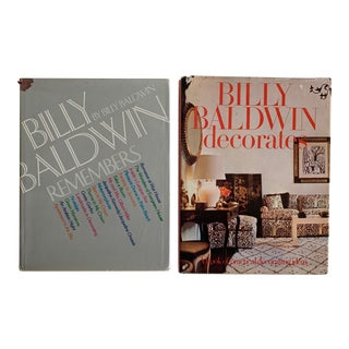 Billy Baldwin Decorating Books, Set of 2 For Sale