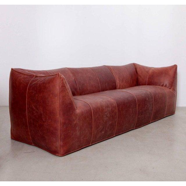 Three-seat 'Bambole' sofa, designed by Mario Bellini for B&B Italia in 1972. Very nice and high quality usable large sofa....