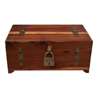 Antique Cedar Box