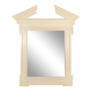 John Hutton Donghia Broken Pediment Mirror For Sale