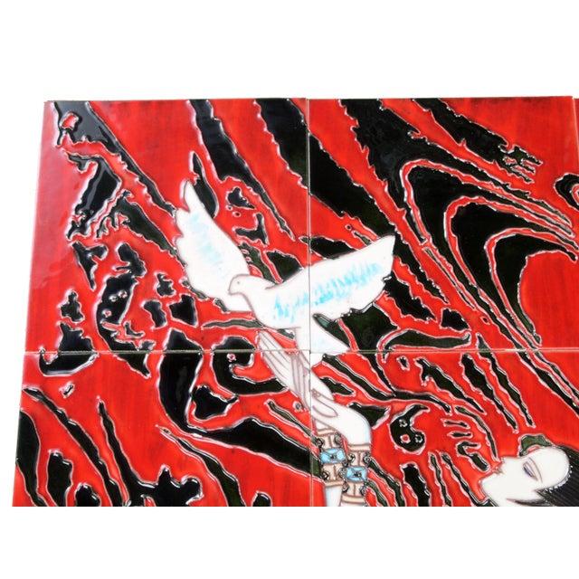 Geisha Tile Wall Art Plaque - Image 2 of 9
