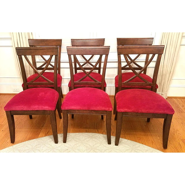 Drexel Heritage X Side Chairs - Set of 6 - Image 2 of 4
