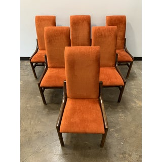 1970s Vintage Henredon Walnut Dining Chairs- Set of 8 Preview