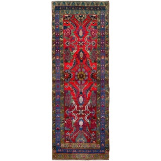 "Vintage Persian Hamadan Rug – Size: 2' 1"" X 6' 1"" For Sale"