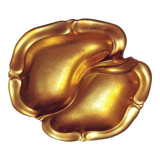 Vintage Pichard Gold Dish - Signed For Sale