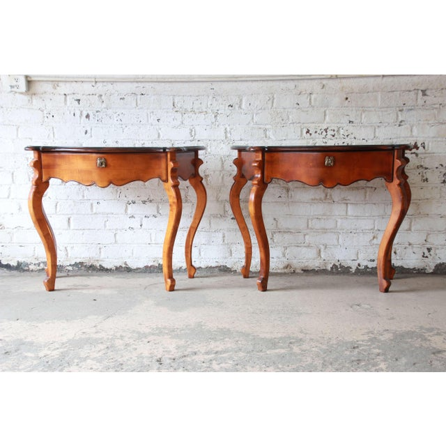 Baker Furniture Milling Road French Console Tables For Sale - Image 13 of 13