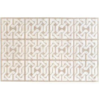 "Stark Studio Rugs Contemporary Cotton Dhurries Rug - 9'11"" X 13'9"" For Sale"