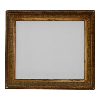 Late 19th Century Carved, Gilded & Gesso Frame c.1880