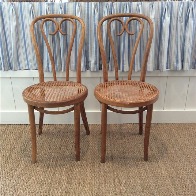 Vintage Bentwood Chairs - A Pair - Image 2 of 7