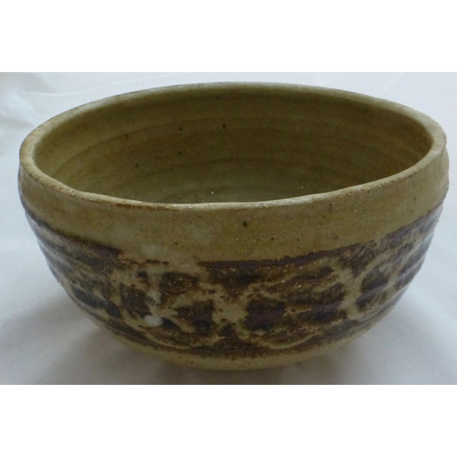 Mid-Century Studio Pottery Decorated Bowl - Image 7 of 11