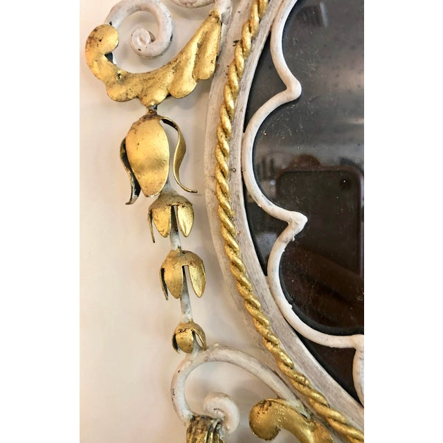 Large Pair Mid Century Italian Sconces For Sale - Image 12 of 13