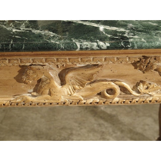 Antique English Limewood Console Table, Circa 1785 For Sale - Image 4 of 11