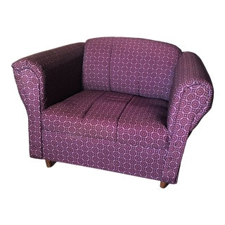 1980s Vintage Club Chair For Sale