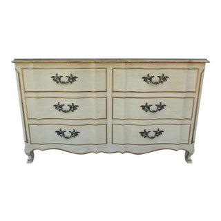 John Widdicomb French Style Six Drawer Dresser For Sale
