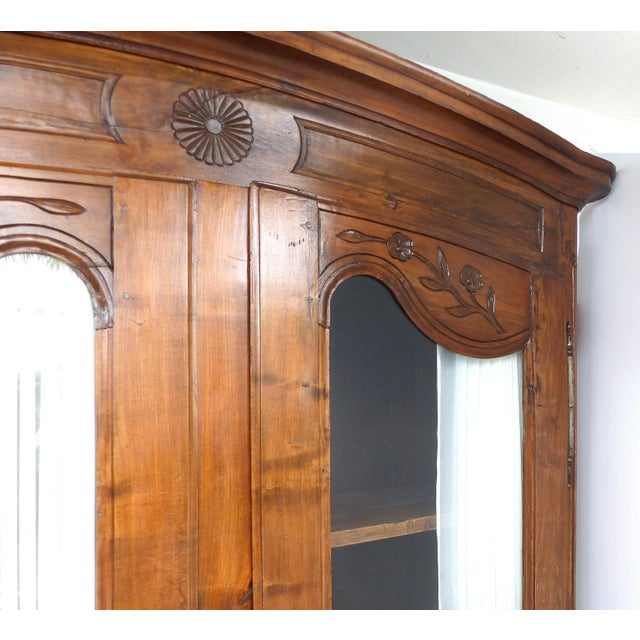 Antique French Provincial Style Armoire - Image 3 of 11