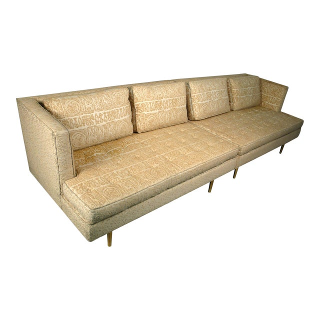 Edward Wormley for Dunbar Even Arm Sofa or Settees For Sale