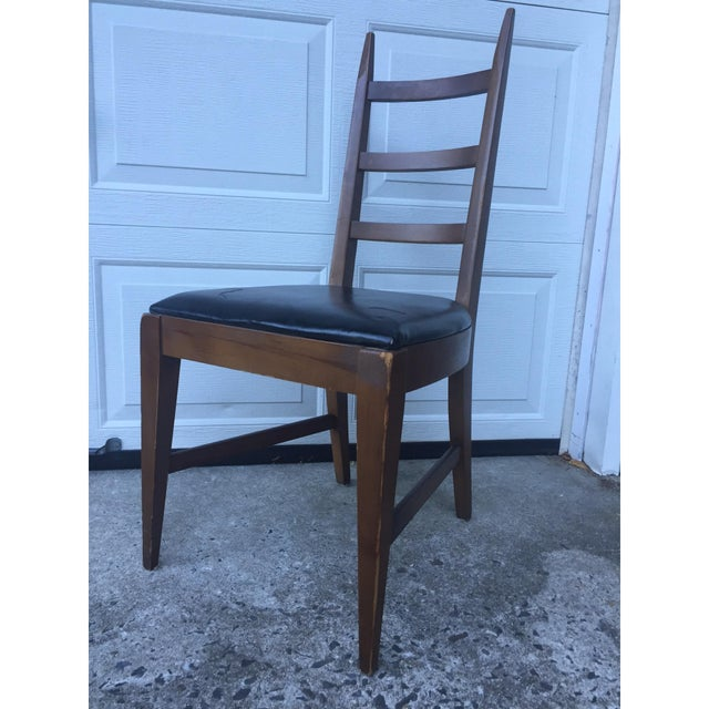 Mid-Century Ladder Back Side Chair - Image 2 of 10
