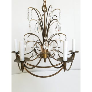 Mid-Century Modern Crystal Swedish Chandelier Preview
