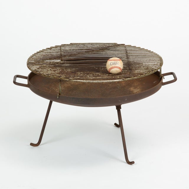 Metal California Modern Barbecue or Brazier by Stan Hawk for Hawk House For Sale - Image 7 of 13