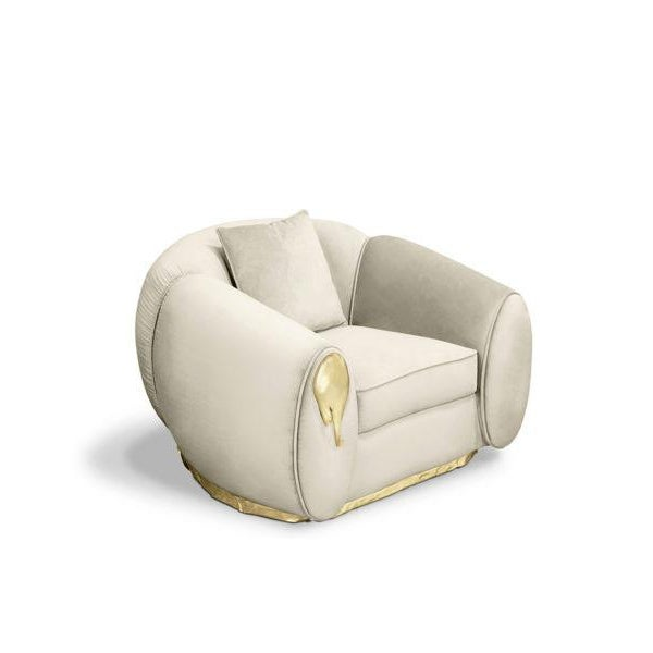 Soleil Armchair From Covet Paris For Sale - Image 4 of 5