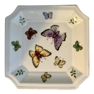 Vintage Porcelain Butterfly Dish
