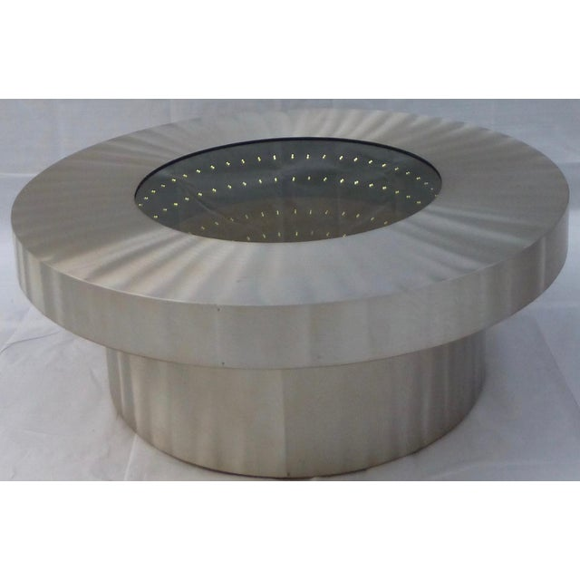The Nova Infinite Tunnel Coffee Table For Sale - Image 5 of 11