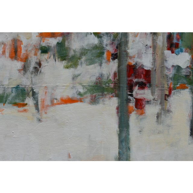 """Stephen Remick Modern """"Hunters in the Snow"""" Abstract Painting by Stephen Remick For Sale - Image 4 of 13"""