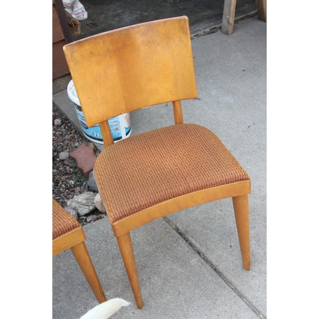 Heywood Wakefield Dining Chairs - Set of 4 - Image 3 of 4