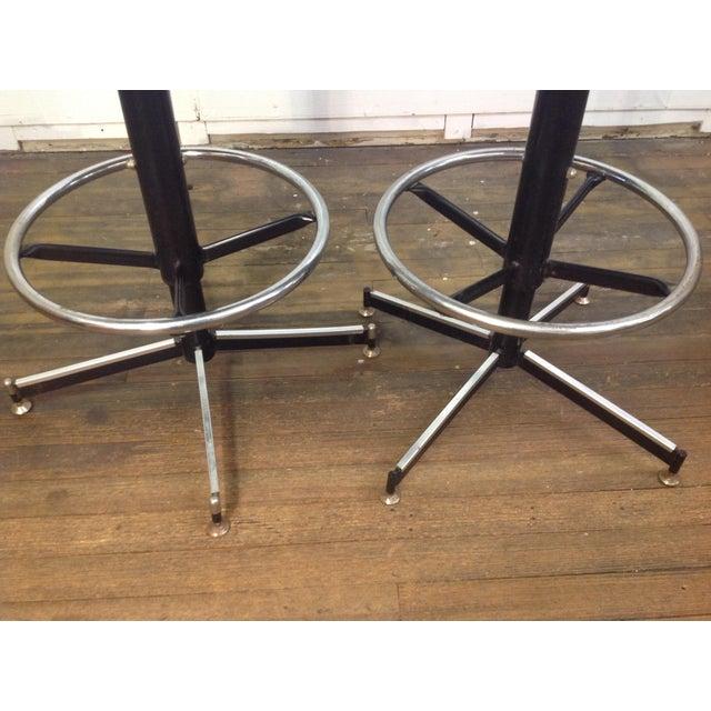 Mid-Century Modern Bar Stools - Set of 4 - Image 5 of 11