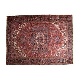 "Vintage Heriz Carpet - 11'5"" X 15'2"" For Sale"