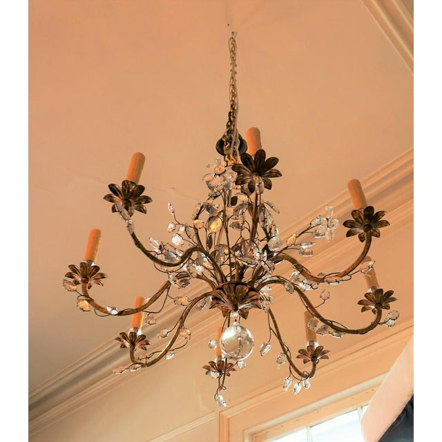 Art Deco Pair Of Crystal Chandelier For Image 3 10