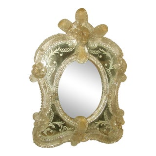 Beveled Venetian Mirror For Sale