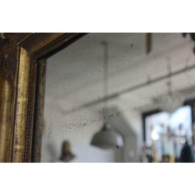 Gold Early 19th Century Giltwood Mirror For Sale - Image 8 of 11