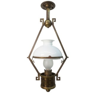 Aesthetic Period Oil Lamp