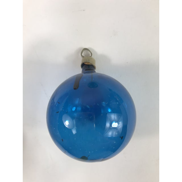 1940s antique glass christmas ornaments set of 4 for sale in los angeles image - Glass Christmas Ornaments