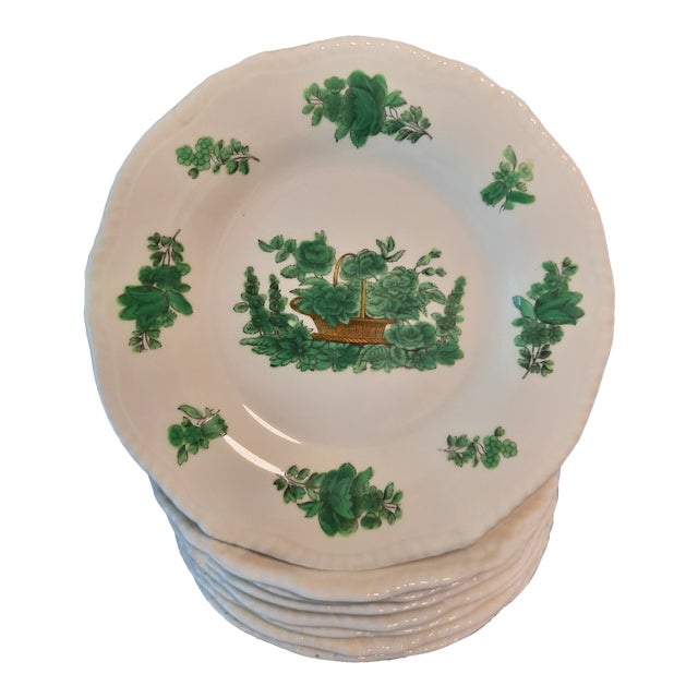 Spode Copelands China Dessert Plates, Set of 8 For Sale