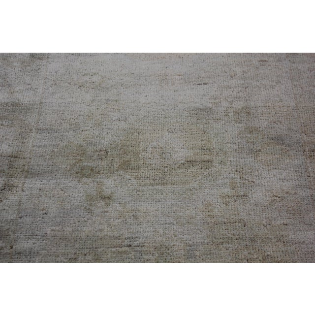 "Aara Rugs Inc. Hand Knotted Oushak Rug - 4'11"" x 3'5"" For Sale - Image 4 of 5"