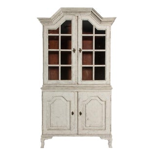 CA. 1870'S SWEDISH GUSTAVIAN VITRINE For Sale