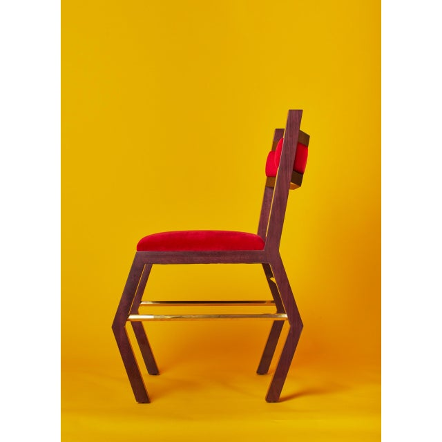 2010s Hex Chair by Artist Troy Smith - Contemporary Design - Artist Proof - Custom Furniture For Sale - Image 5 of 9