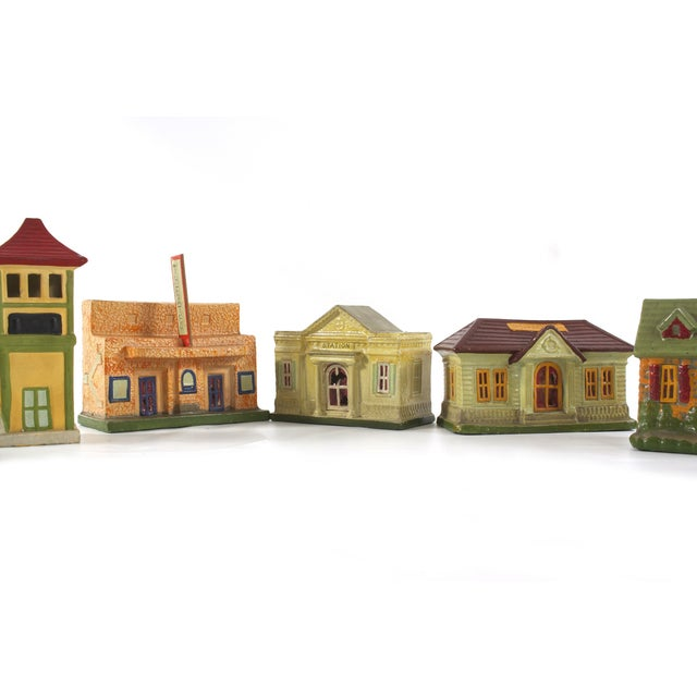 Vintage Houses, Made in Japan - Set of 18 - Image 3 of 5