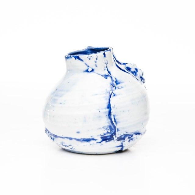 "Ceramic Yokky Wong ""Cracked"" Teapot For Sale - Image 7 of 7"