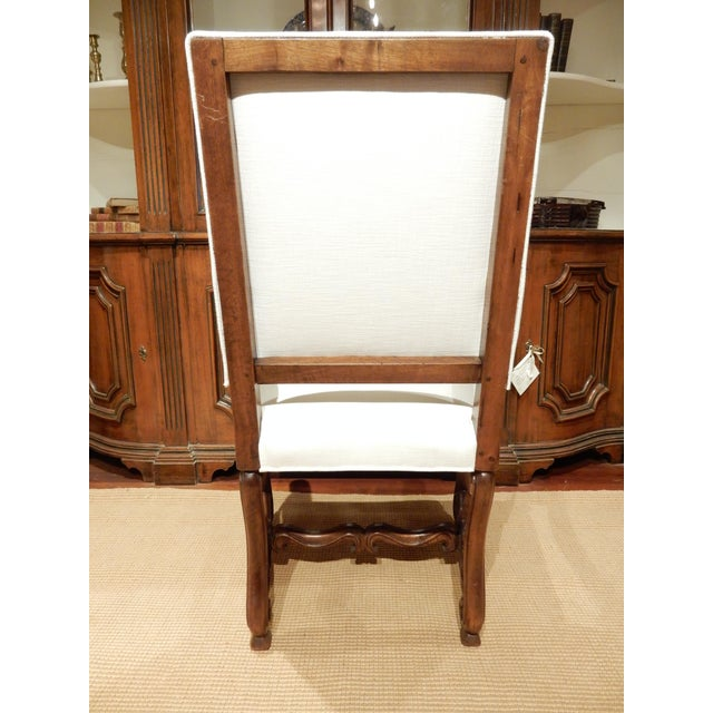 Late 19th Century Italian Walnut Armchair For Sale In New Orleans - Image 6 of 9